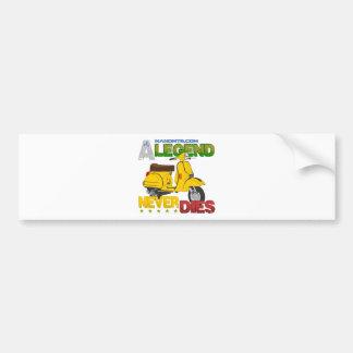 A_Legend_Never_Dies_(Px 125) Bumper Sticker