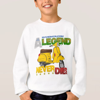 A_Legend_Never_Dies_(Px 125) Sweatshirt