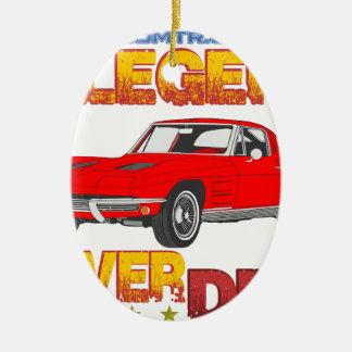 A_Legend_Never_Dies_(Vette S.R.) Ceramic Oval Decoration