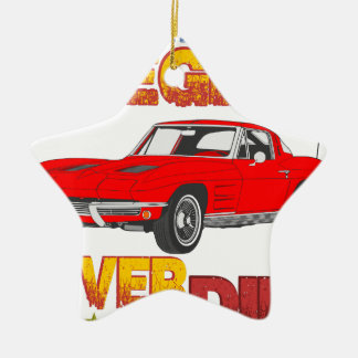 A_Legend_Never_Dies_(Vette S.R.) Ceramic Star Decoration