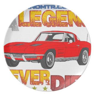 A_Legend_Never_Dies_(Vette S.R.) Plate
