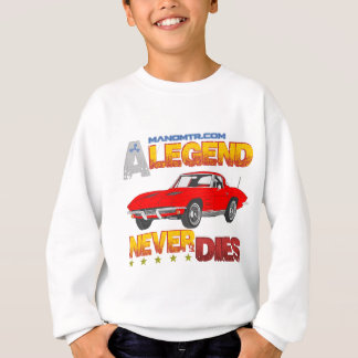 A_Legend_Never_Dies_(Vette S.R.) Sweatshirt