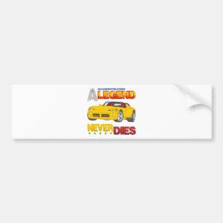 A_Legend_Never_Dies_(VPR) Bumper Sticker