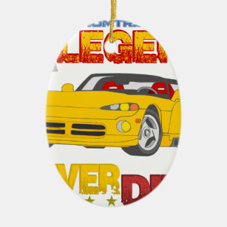 A_Legend_Never_Dies_(VPR) Ceramic Oval Decoration