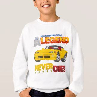 A_Legend_Never_Dies_(VPR) Sweatshirt