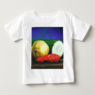 A Lemon and a Cucumber Baby T-Shirt