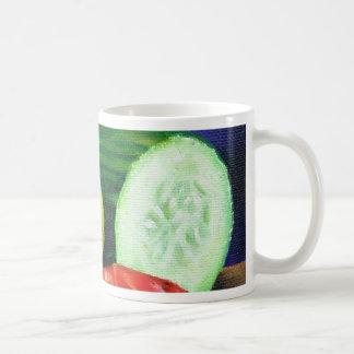 A Lemon and a Cucumber Coffee Mug