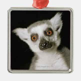 A lemur. metal ornament