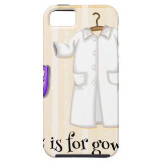 A Letter G for Gown iPhone 5 Case