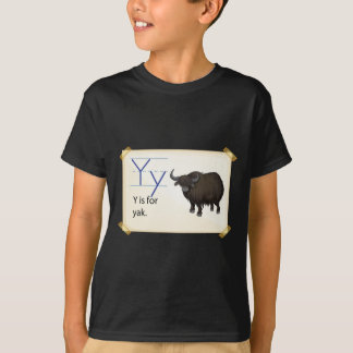 A letter Y for yak T-Shirt