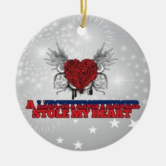 A Liechtensteiner Stole my Heart Christmas Ornament
