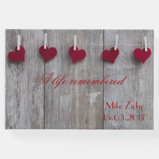 A life remembered:  In Loving Memory Guest Book
