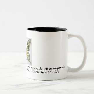 A Life That Has Been Changed Two-Tone Coffee Mug