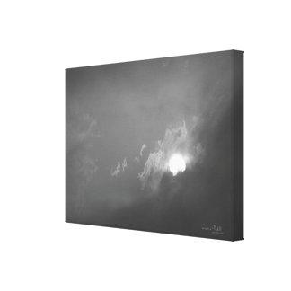 """""""A Light Coat of Grey """" Canvas Print"""