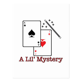 A Lil' Mystery Postcard