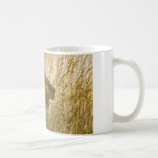 A Lion Waits, Zimbabwe Africa Coffee Mug