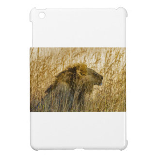 A Lion Waits, Zimbabwe Africa iPad Mini Covers