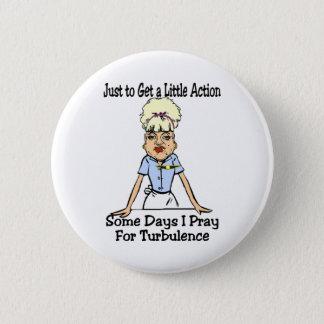 A Little Action 6 Cm Round Badge