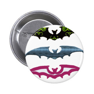 A Little Batty 6 Cm Round Badge