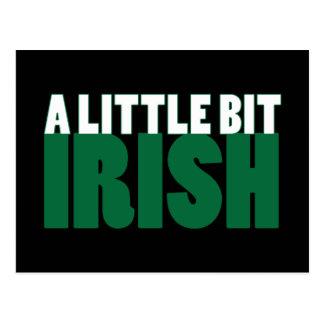 A Little Bit Irish Black Post Cards