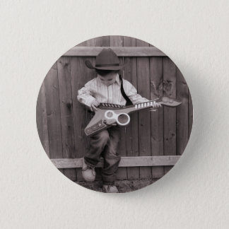 A Little Bit Of Country 6 Cm Round Badge