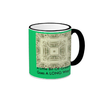 A Little Bit Of Green- Mug
