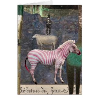 A Little Bit Twisted, Digital Collage, Birthday Card