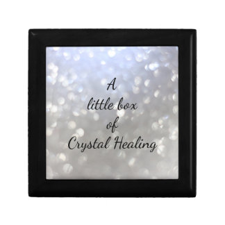 A little box of Crystal Healing Small Square Gift Box