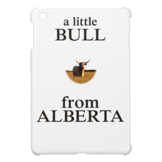 A Little Bull from Alberta Cover For The iPad Mini