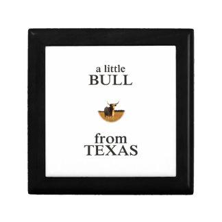 A Little Bull from Texas Gift Box