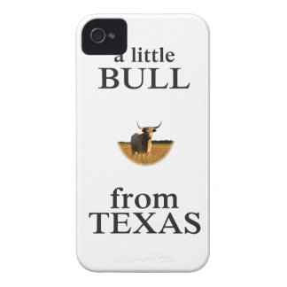 A Little Bull from Texas iPhone 4 Case-Mate Case