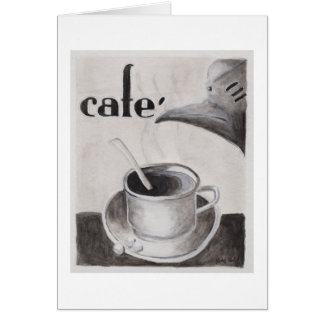 A Little Cafecito blank note card