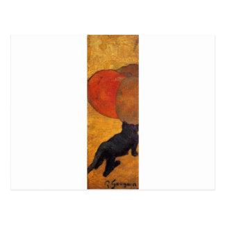 A little cat by Paul Gauguin Postcard