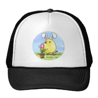 A little Chickadee or bee Trucker Hat