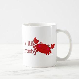 A little crabby basic white mug