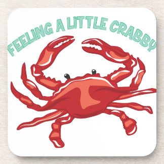 A Little Crabby Beverage Coasters