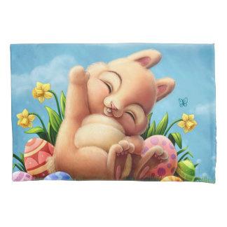 A Little Easter Bunny Pillowcase