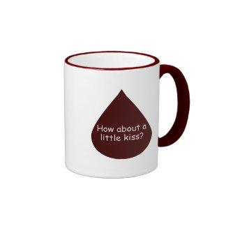 A Little Kiss Coffee Mugs