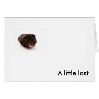 """""""A Little Lost"""" Card"""
