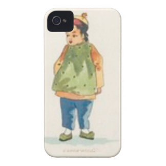 A Little Outkast Chinese Boy iPhone 4 Case
