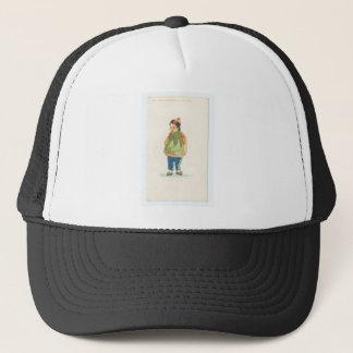 A Little Outkast Chinese Boy Trucker Hat