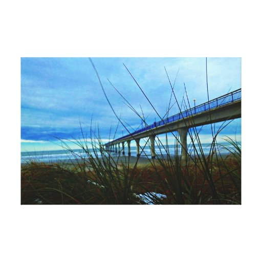 A little patch of snow. gallery wrap canvas