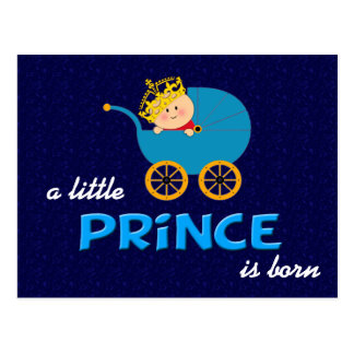 A Little Prince is Born Postcard