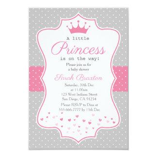 A little princess baby shower invitation card