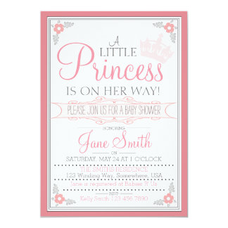 A Little Princess Is On Her Way Card