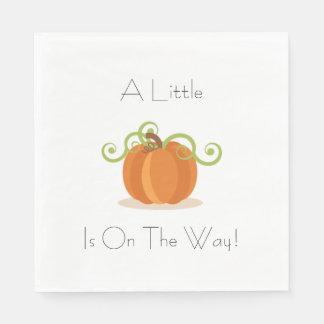 A Little Pumpkin Napkins Disposable Serviette