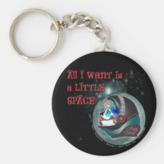 A Little Space Key Ring