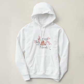 A little Spill the Tea with friends Hoodie
