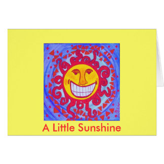 A little sunshine card