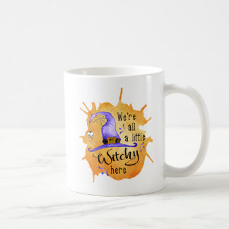 A Little Witchy - Funny Halloween Coffee Mug